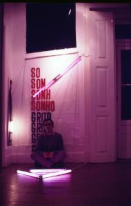 """"""" Sonho / Grito"""", instalaçao e perfomance no C.A.P.C.<br /> @silvestre pestana"""