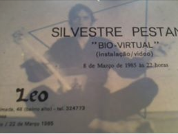 Convite Bio-Virtual Galeria Leo