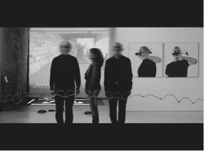 """""""Mira-censurada"""" de Vitor Leite. Na imagem Joao Lafuente, Manuela Monteiro e Silvestre Pestana"""