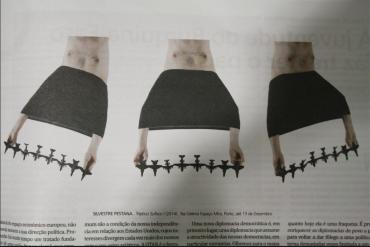 > SUFOCO de Silvestre Pestana no jornal Le Monde diplomatique - versão portuguesa. Tríptico SUFOCO (2014), no Espaço MIRA